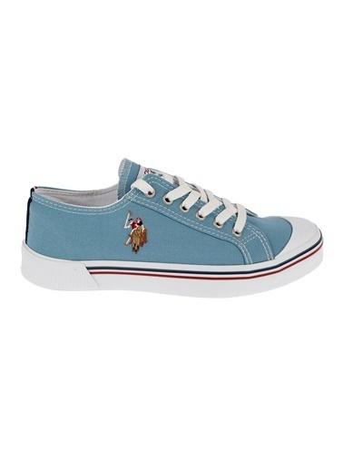 U.S. Polo Assn. U.S. Polo Assn. Penelope Günlük Yürüyüş Bayan Spor Ayakkabı Mavi